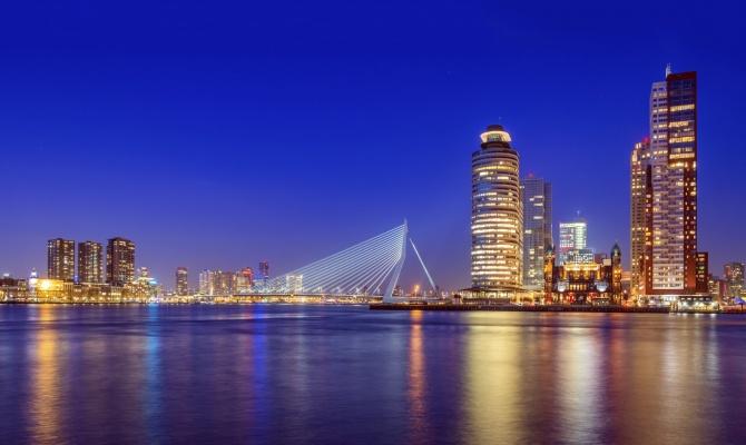 Tutti i colori di Rotterdam