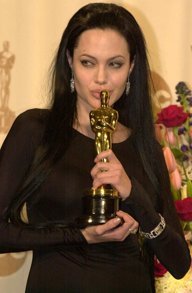 Angelina e il suo Oscar