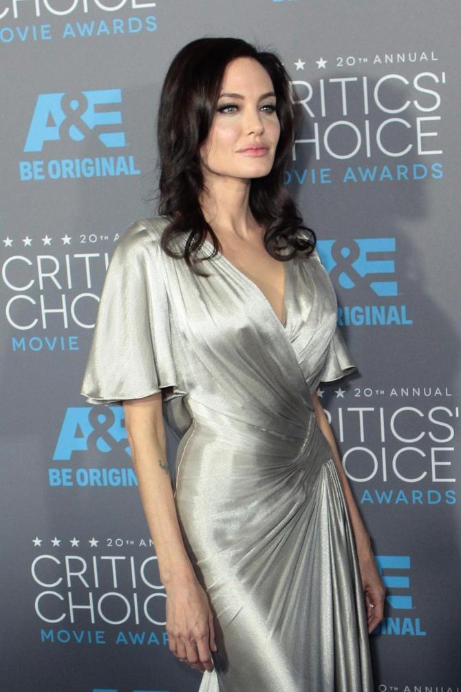 Angelina Jolie in uno scatto recente
