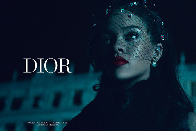 Rihanna per Dior