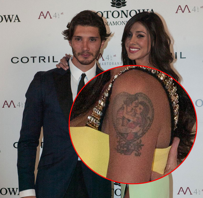 Tatuaggio Belen e Stefano