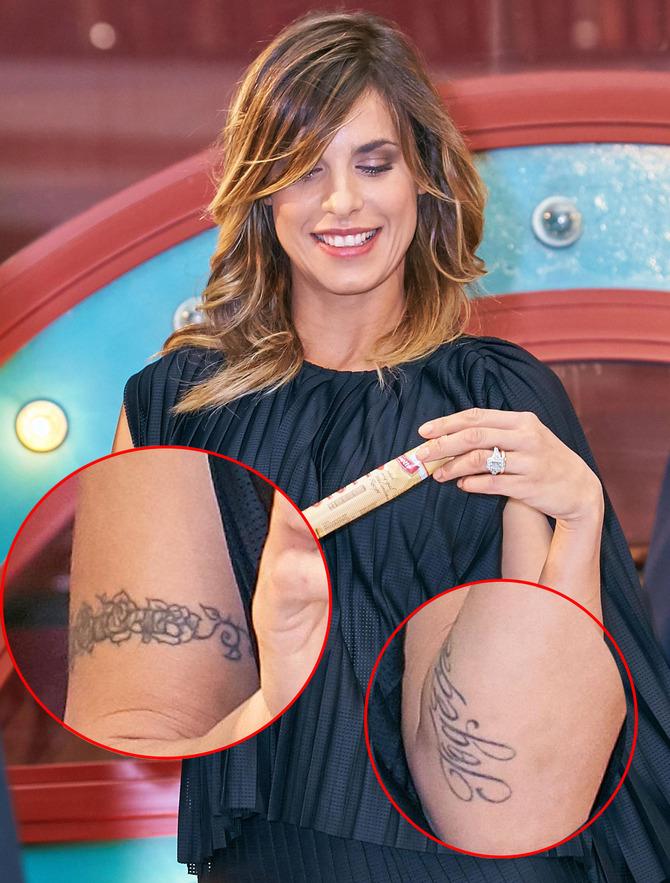 Tatuaggi Elisabetta Canalis