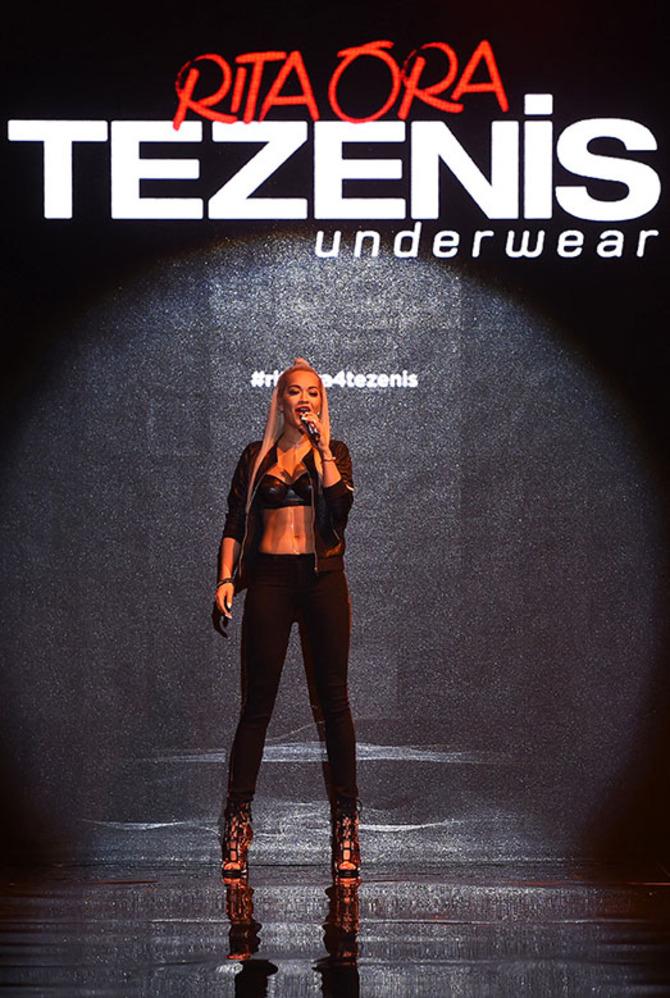 Rita Ora per Tezenis