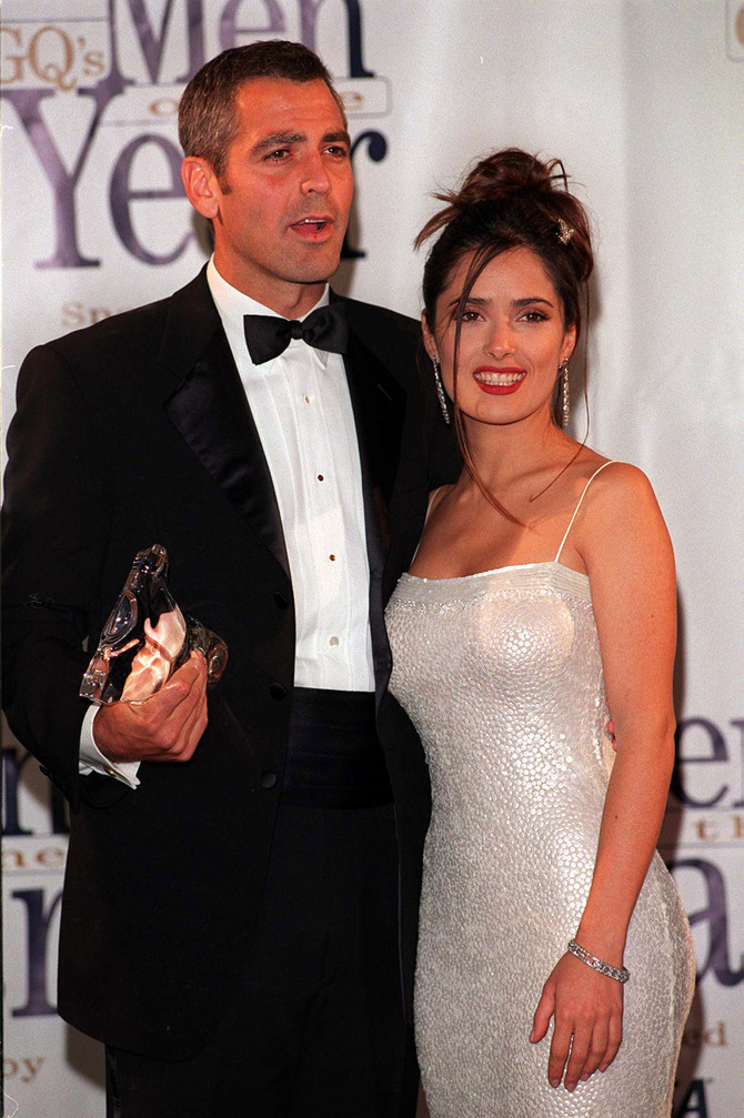Salma Hayek e George Clooney