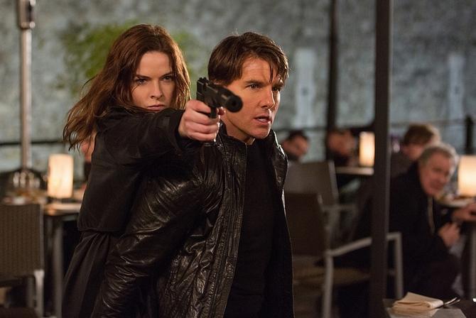 Angelo custode di Tom Cruise
