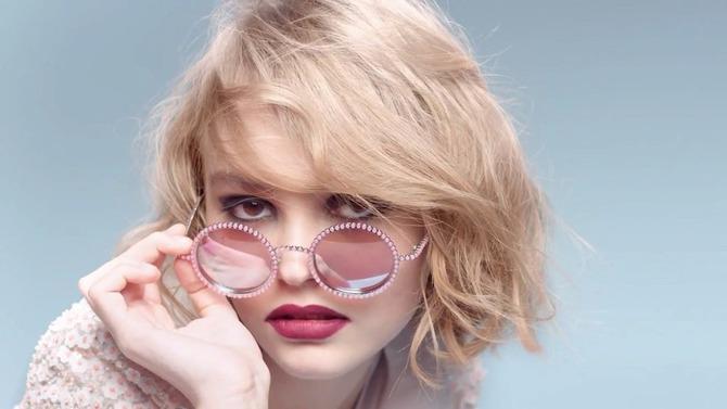 Lily-Rose Depp per Chanel