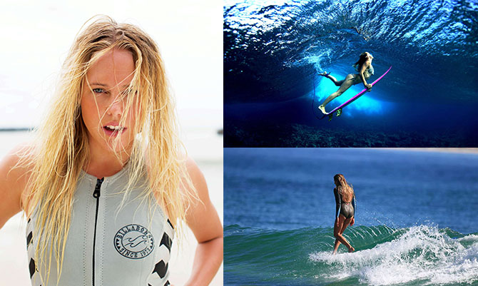 Cercatele tra le onde: le surfiste firmate Billabong