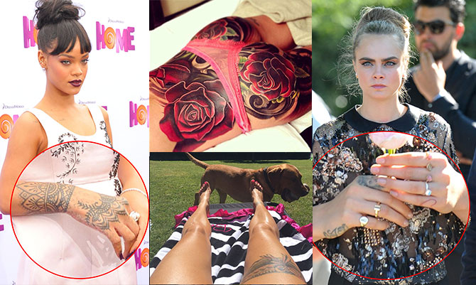 Tatuaggi da star: tra eccessi e opere d'arte