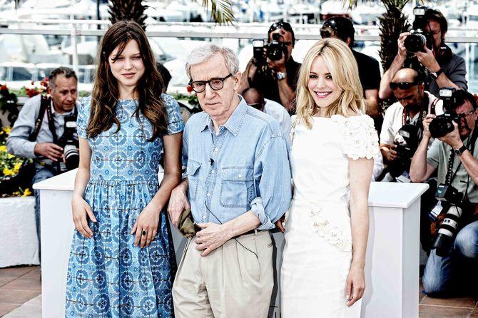 Con Woody Allen e Léa Seydoux sulla Croisette