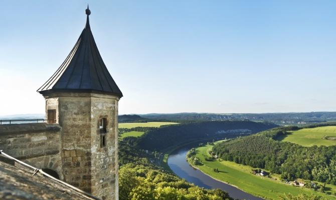 In Sassonia sulla Ciclabile dell'Elba