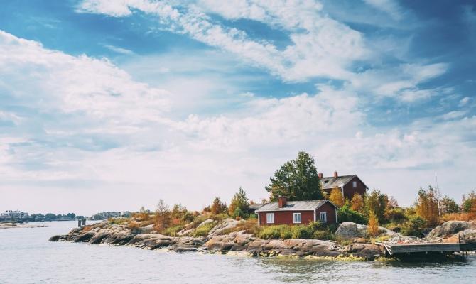 Camping nell'arcipelago finlandese