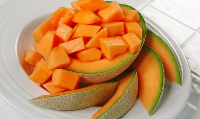 Melone a cubetti