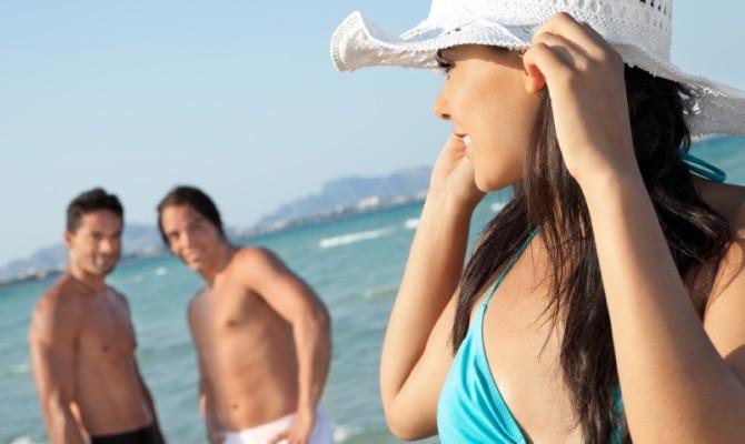 Flirtare in spiaggia