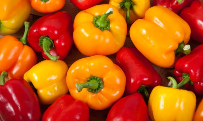 Peperone, il colore nel piatto