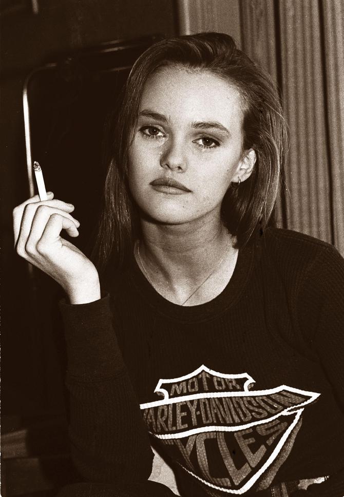 Vanessa Paradis da giovane