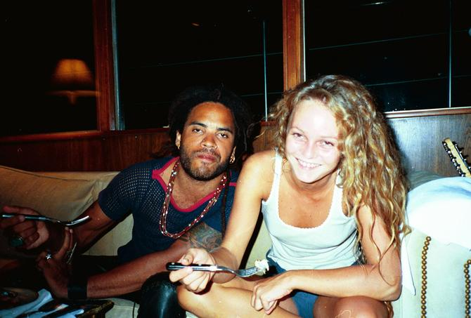 Vanessa Paradis e Lenny Kravitz