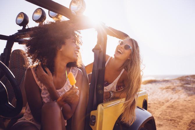 Donne in macchina