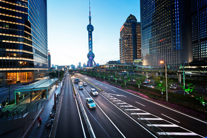 Macchine in Cina