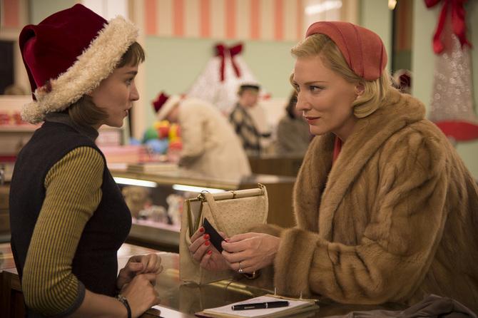 Rooney Mara e Cate Blanchett - Carol