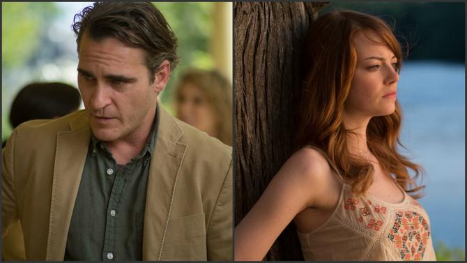 Joaquin Phoenix ed Emma Stone - Irrational Man