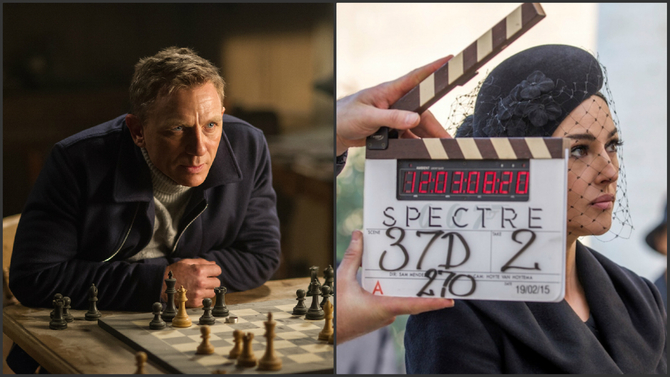 Daniel Craig e Monica Bellucci - 007: Spectre