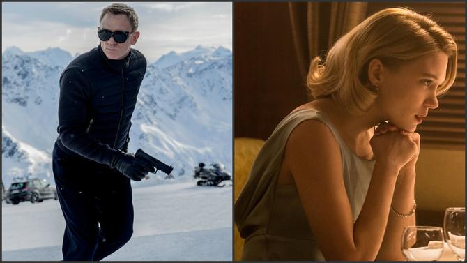 Daniel Craig e Léa Seydoux - 007: Spectre
