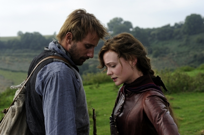 Carey Mulligan e Matthias Schoenaerts - Via dalla pazza folla