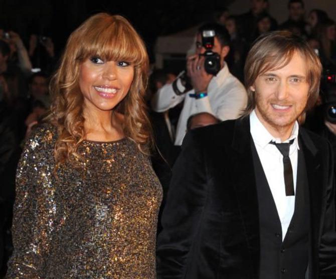 Cathy e David Guetta