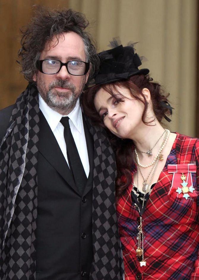 Tim Burton ed Helena Bonham Carter