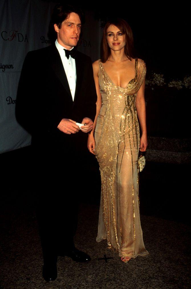 Hugh Grant e Liz Hurley
