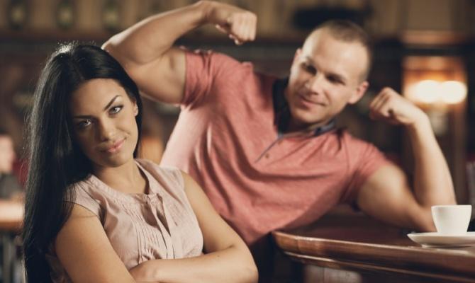 Flirt al bar