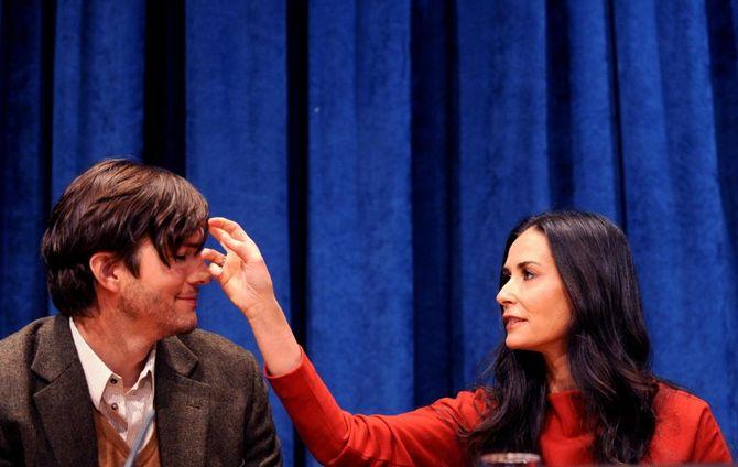 Demi Moore ed Ashton Kutcher
