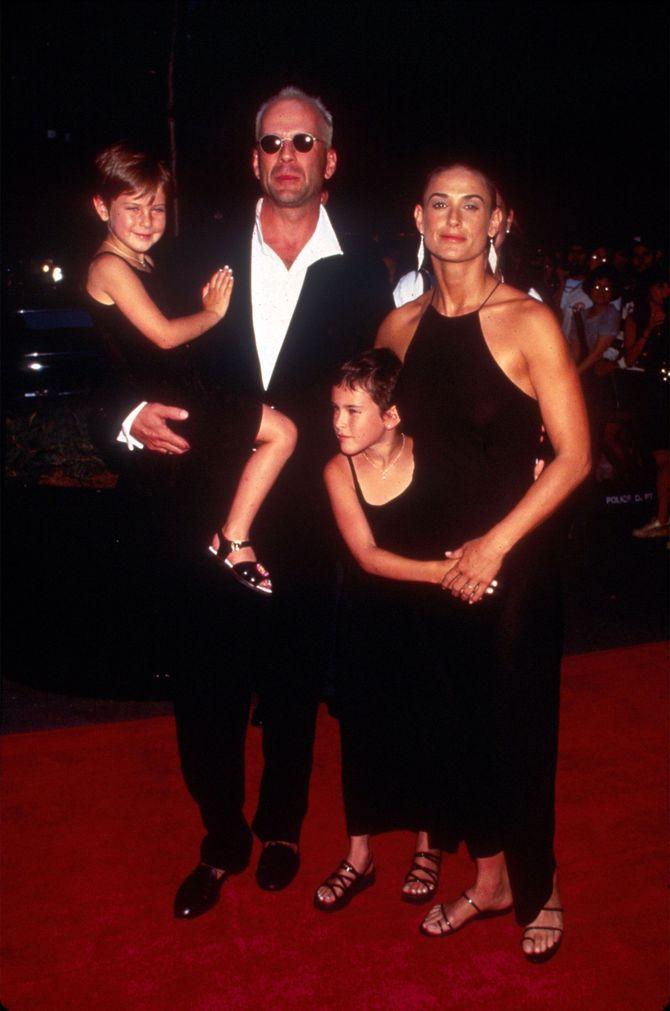 Bruce Willis e Demi Moore