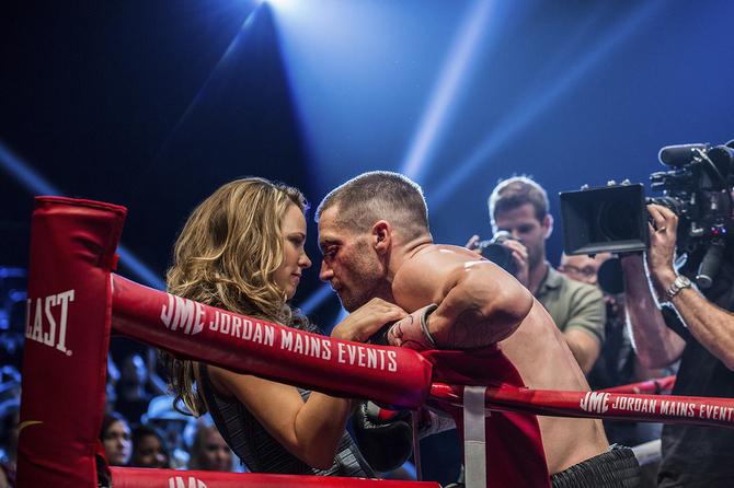 Rachel McAdams e Jake Gyllenhaal in Soutphaw - L'ultima sfida