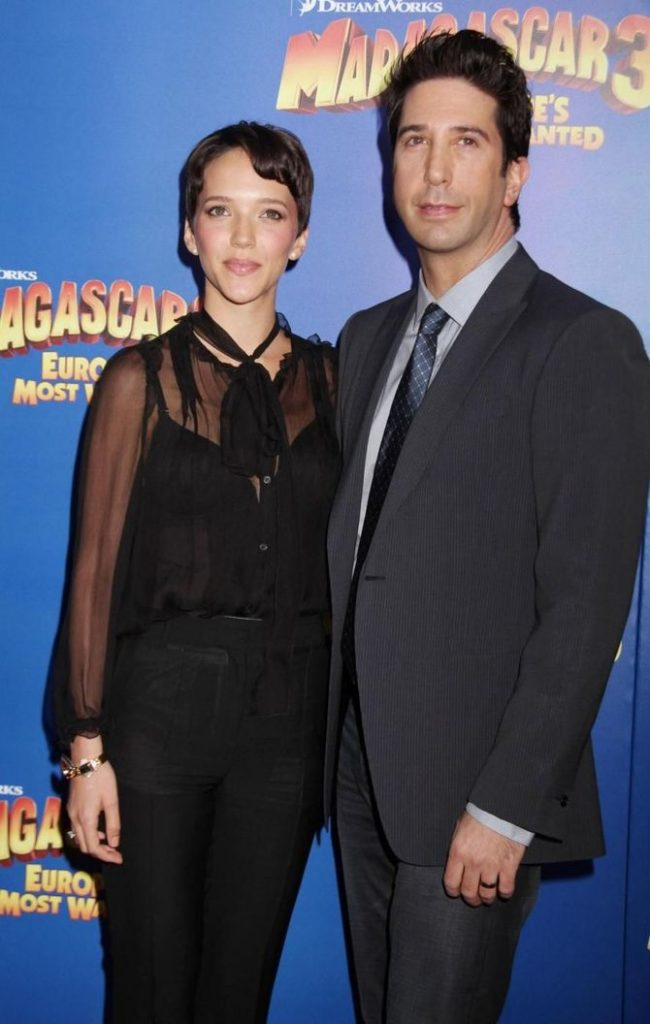 Zoe Buckman e David Schwimmer