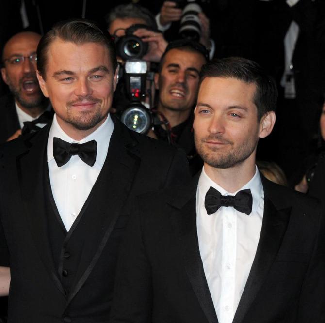 Leonardo DiCaprio e Tobey Maguire