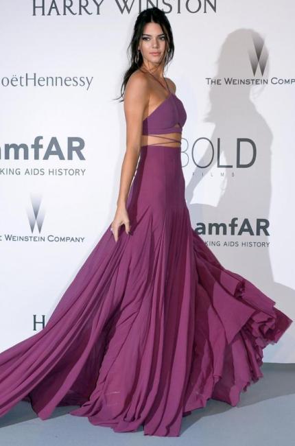 La sorellastra Kardashian nuovo volto di Fendi