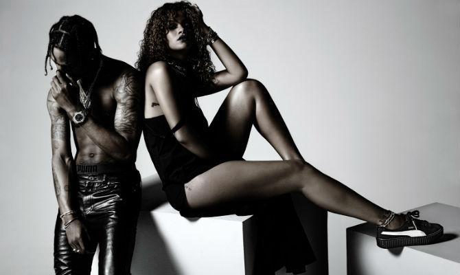 Puma Rihanna sneaker cobranding