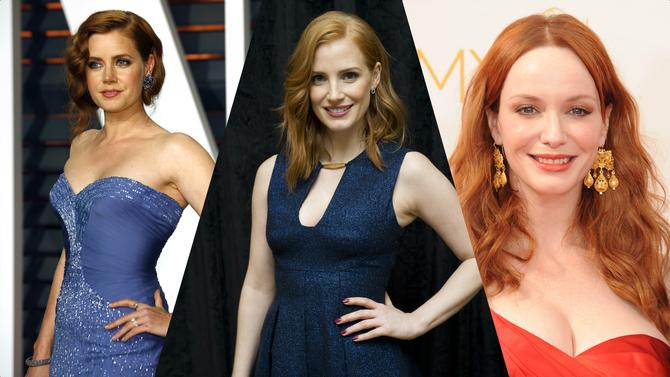 Le rosse più sexy di Hollywood