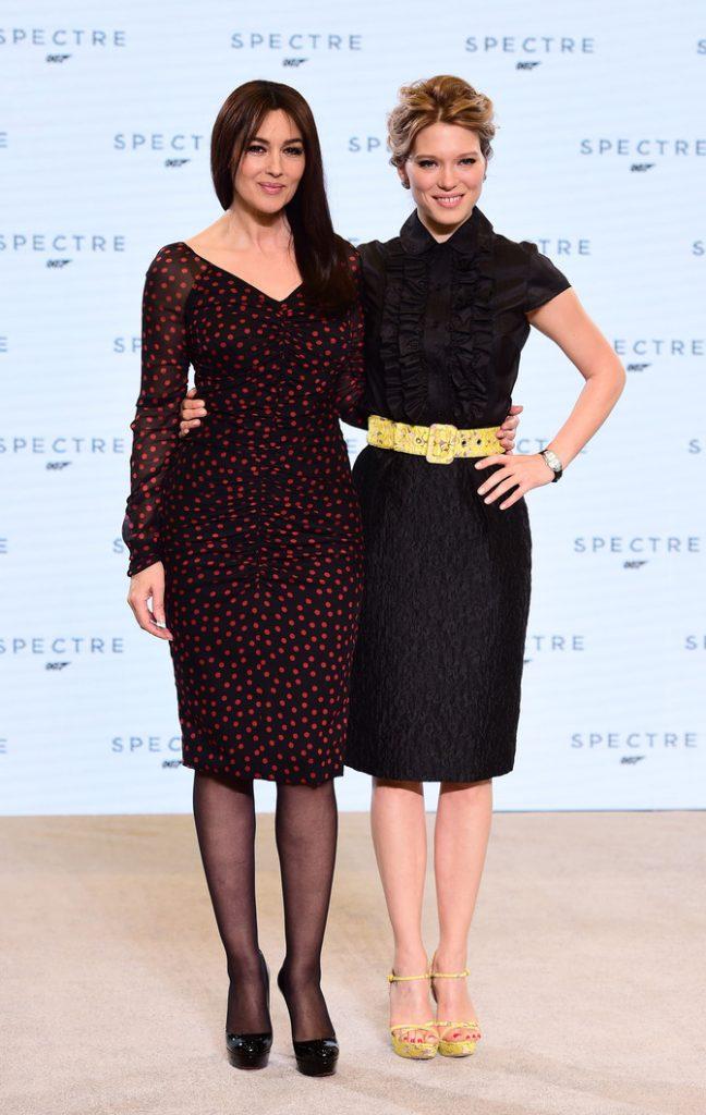 Bellucci e Seydoux, Bond Girl in Spectre