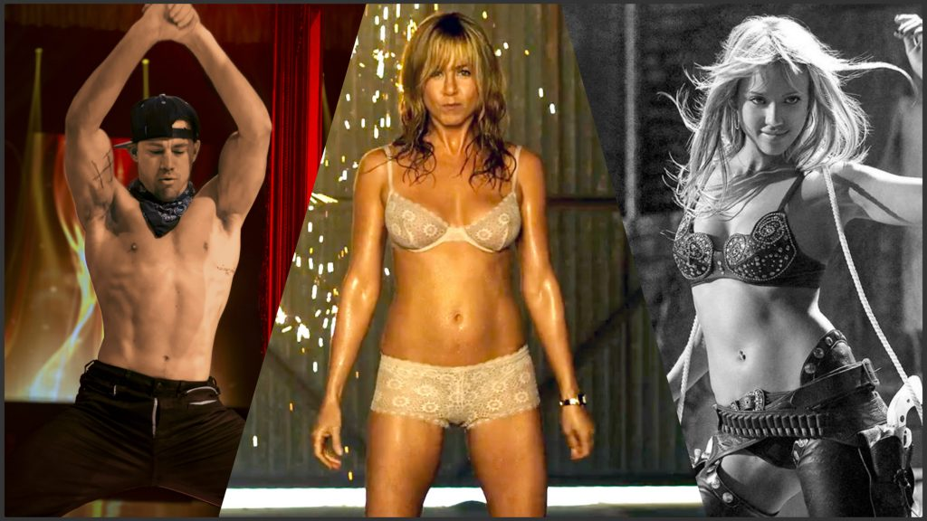 Striptease al cinema: gli indimenticabili