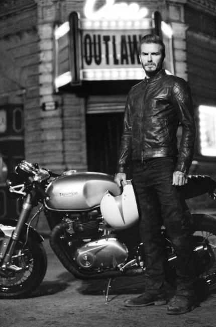 David Beckham centauro dello stile per un noto brand inglese