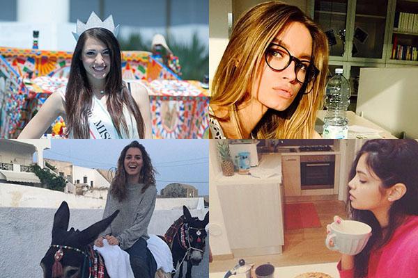 Il fascino italiano in 10 Miss