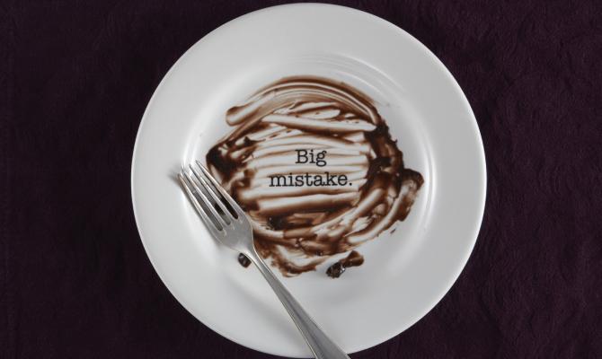 Food mistakes: 5 consigli per non sabotare la dieta