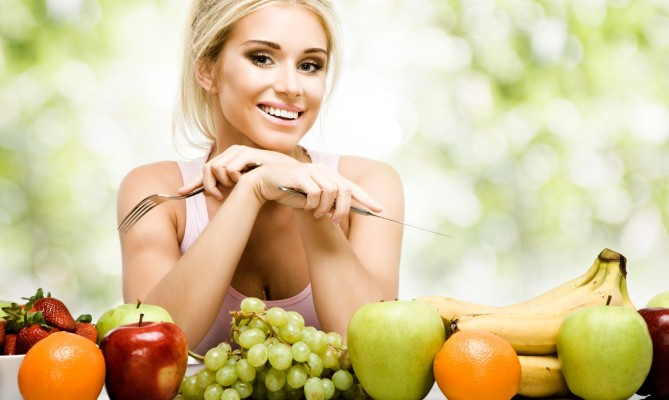 donna, verdure, salute, dieta