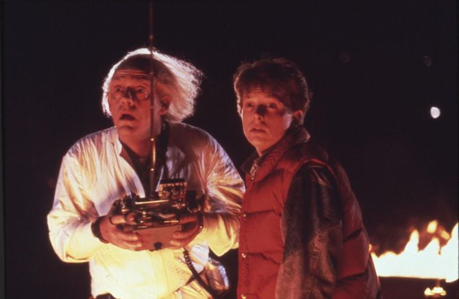 Marty McFly aka Michael J. Fox