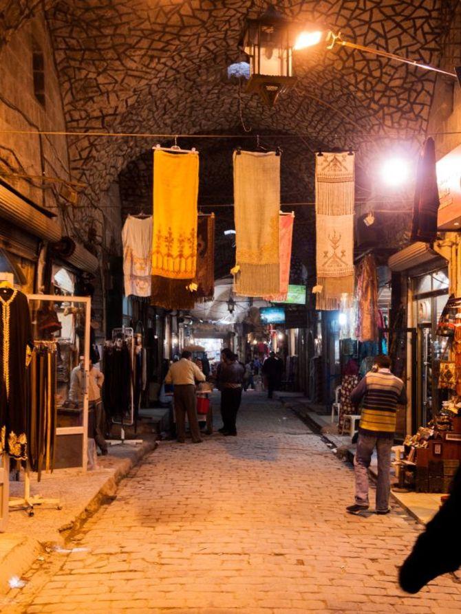 Souk di Aleppo