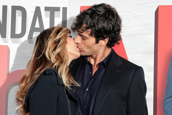 Con la moglie Myriam Catania