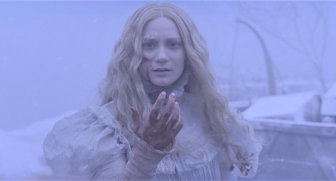 Mia Wasikowska e i fantasmi di Crimson Peak (2015)
