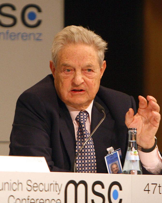 3 George Soros